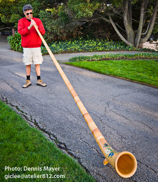 Alphorn -Allan Richards